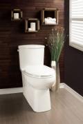 Toilette Cali 4710BOVB 4.8L BLANC